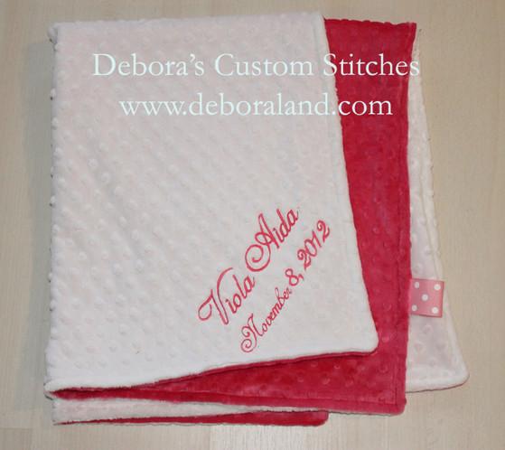 Machine embroidery debora s custom stitches baby gifts